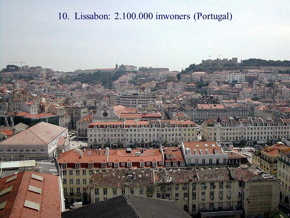 11. Boekarest: 2.000.000 inwoners (Roemenië)