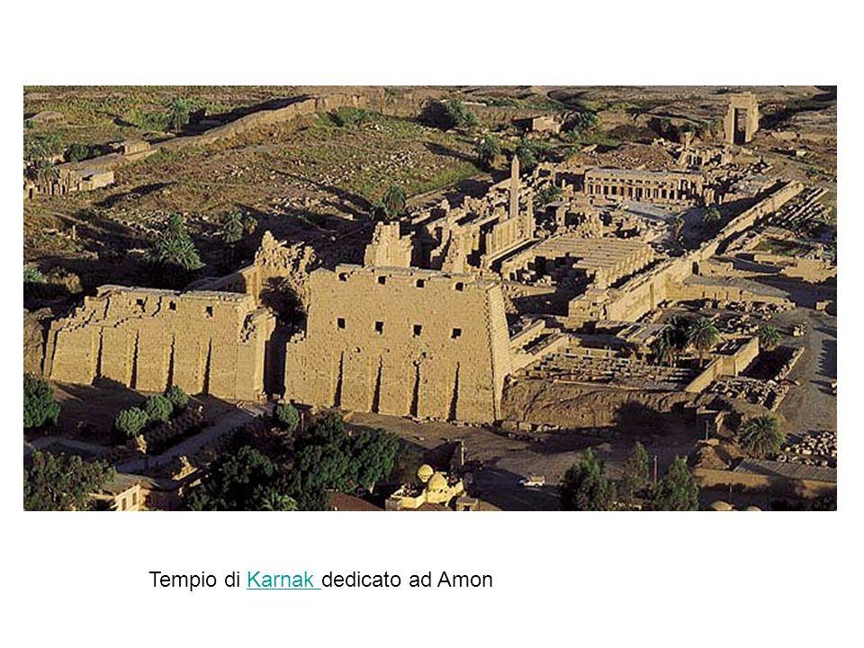 Tempio di Karnak dedicato ad AmonKarnak