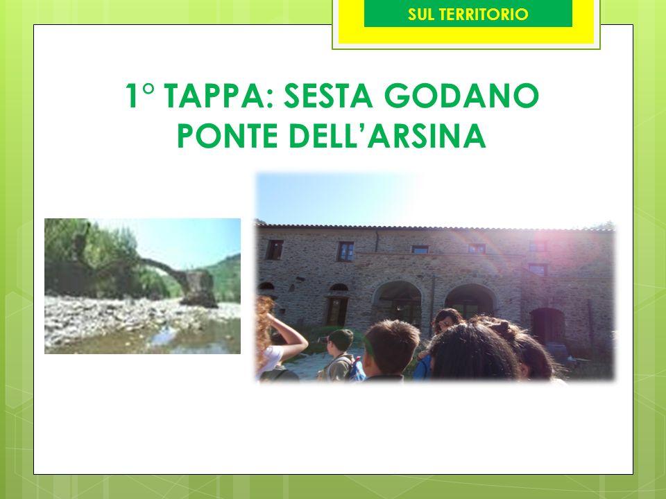 1° TAPPA: SESTA GODANO PONTE DELL'ARSINA SUL TERRITORIO