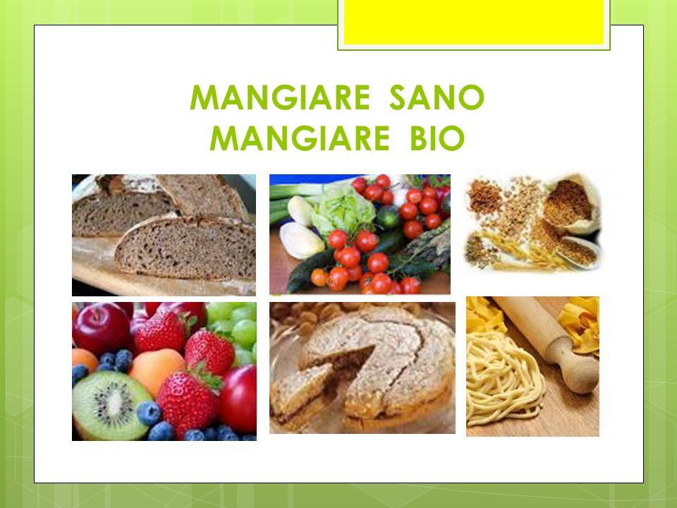 MANGIARE SANO MANGIARE BIO
