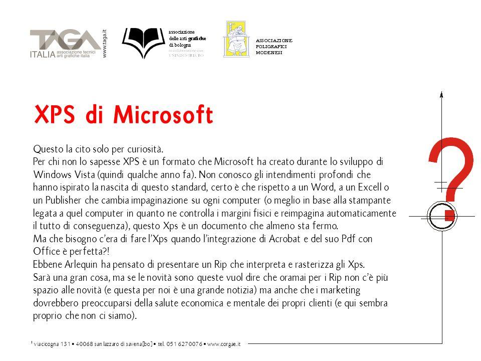 XPS di Microsoft Questo la cito solo per curiosità.