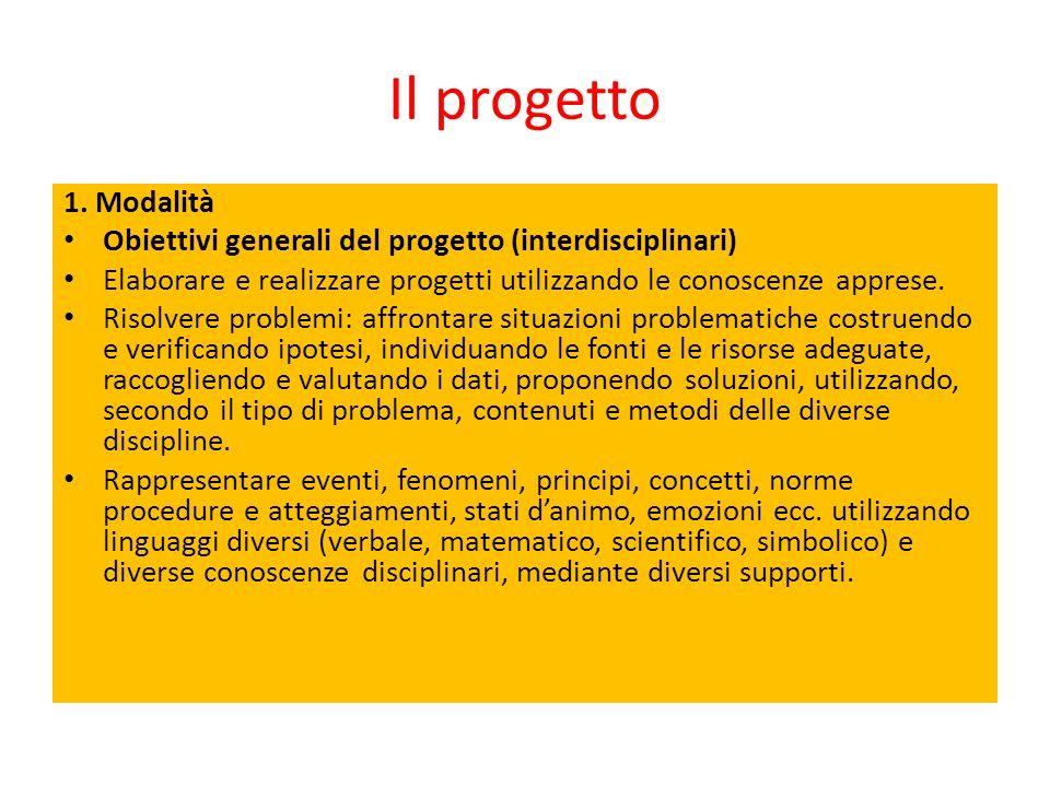 Il progetto 1.