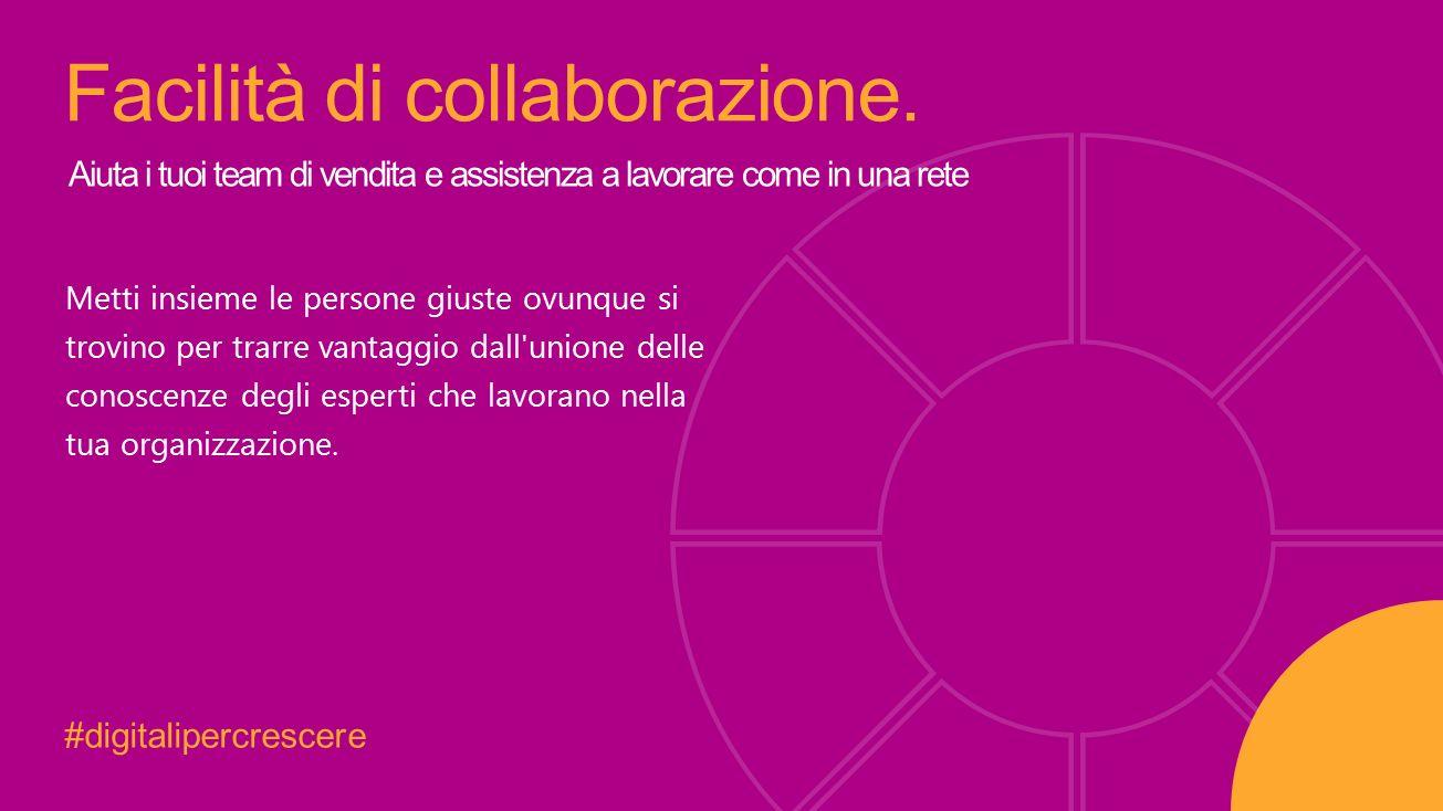 #digitalipercrescere Facilità di collaborazione.