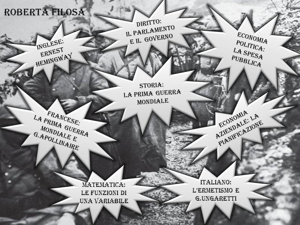 Inglese: Ernest hemingway Inglese: Ernest hemingway FRANCESE: La Prima GUERRA MONDIALE E g.APOLLINAIRE FRANCESE: La Prima GUERRA MONDIALE E g.APOLLINA