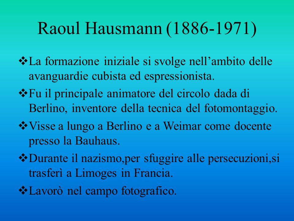 Raoul Hausmann, Lo spirito del nostro tempo (Testa meccanica),1919.