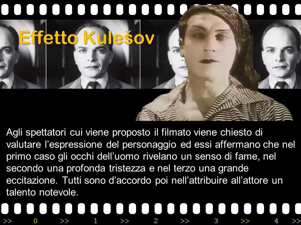 >>0 >>1 >> 2 >> 3 >> 4 >> Effetto Kulešov Agli spettatori cui viene proposto il filmato viene chiesto di valutare l'espressione del personaggio ed ess