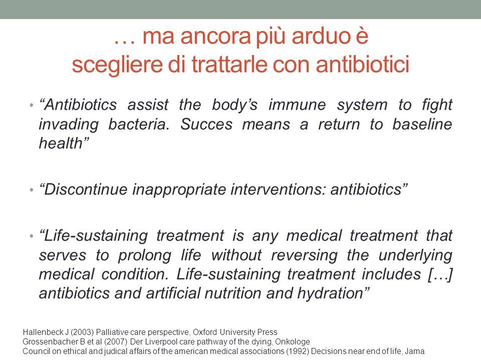 """… ma ancora più arduo è scegliere di trattarle con antibiotici """"Antibiotics assist the body's immune system to fight invading bacteria. Succes means a"""