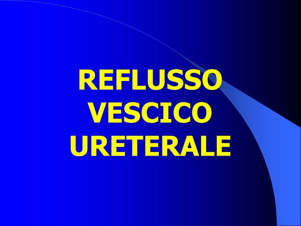 REFLUSSO VESCICO URETERALE
