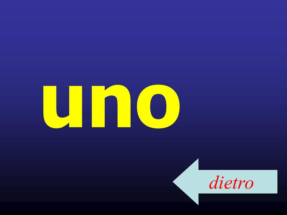 Parole affini in inglese UNO unit, unify DUE duet, duel, duo TRE trisect, tripartite QUATTRO quarter, quatrain CINQUE quinquennial, quintuplet SEI sextuplet, sextile Can you think of other cognates?