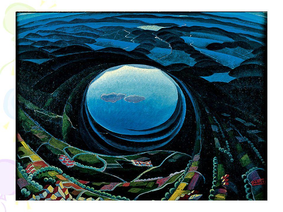 Ne è un esempio il dipinto Primavera umbra, realizzato nel 1923, esposto alla Biennale di Venezia 1924.