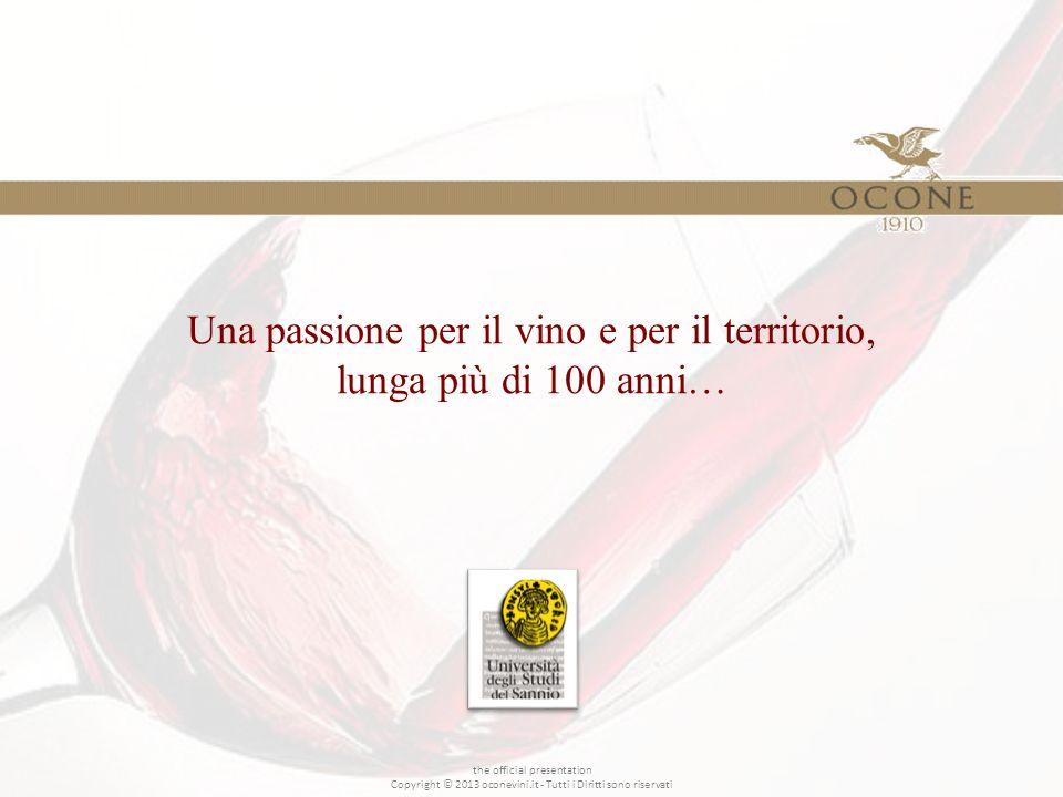 Una passione per il vino e per il territorio, lunga più di 100 anni… the official presentation Copyright © 2013 oconevini.it - Tutti i Diritti sono riservati