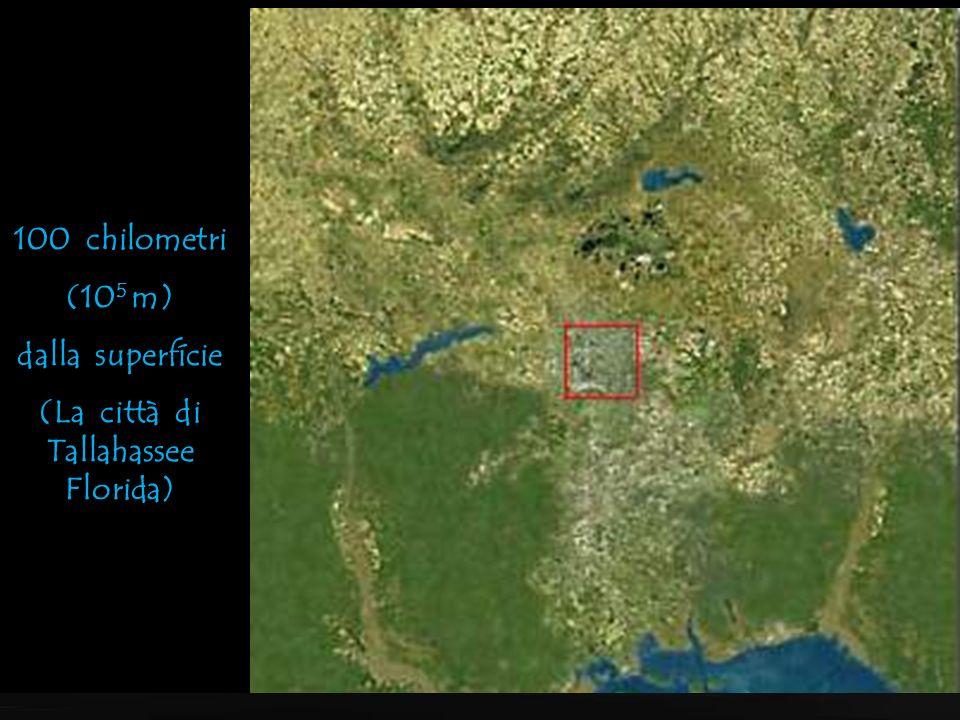 1.000 chilometri (10 6 m) Una classica foto dal satellite (la Florida)