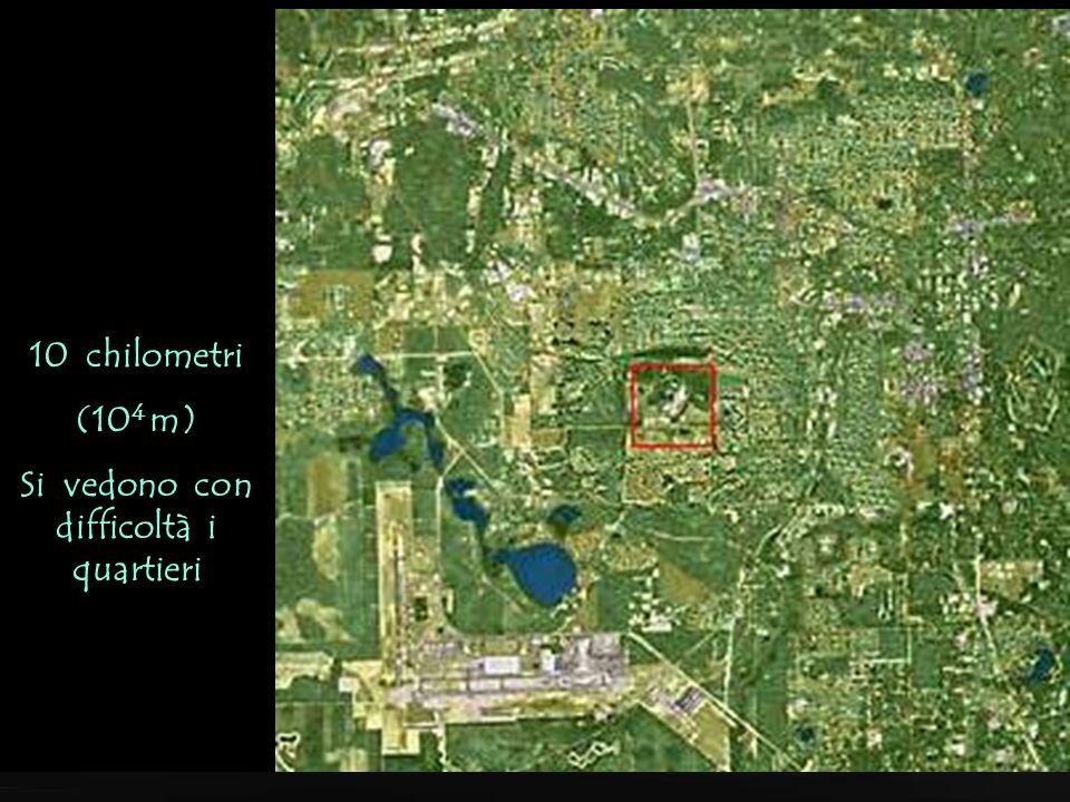 100 chilometri (10 5 m) dalla superfície (La città di Tallahassee Florida)