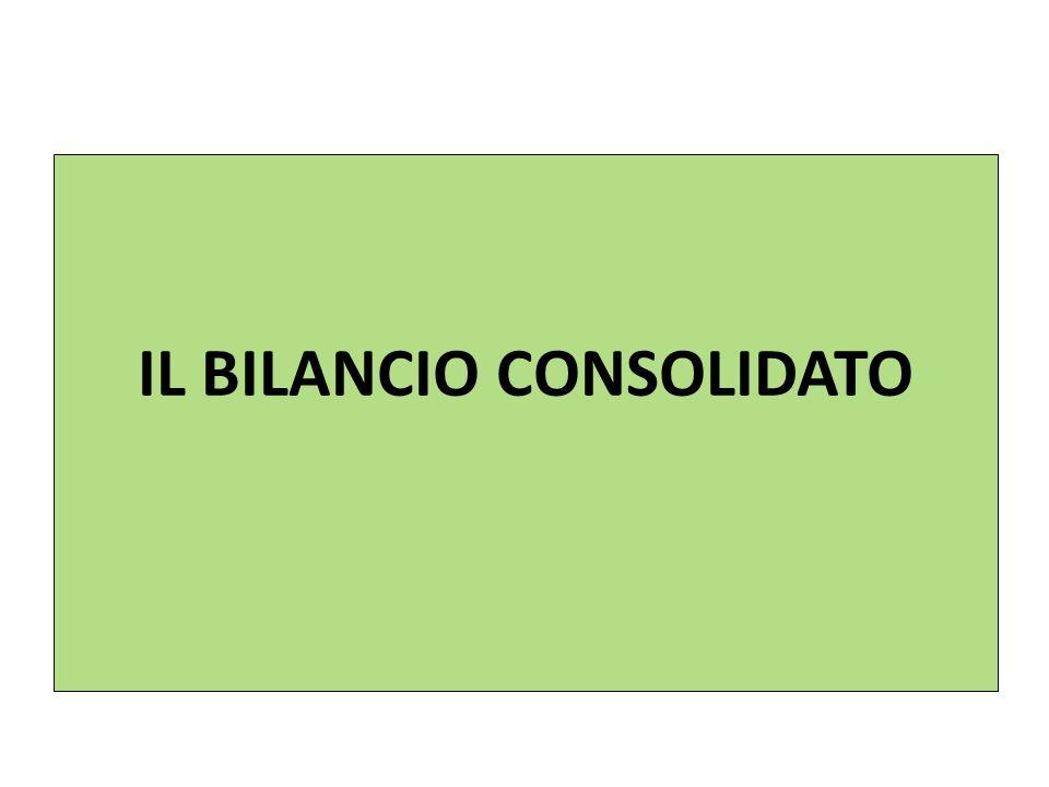 IL BILANCIO CONSOLIDATO