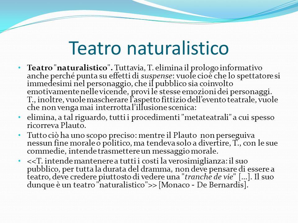 Teatro naturalistico Teatro