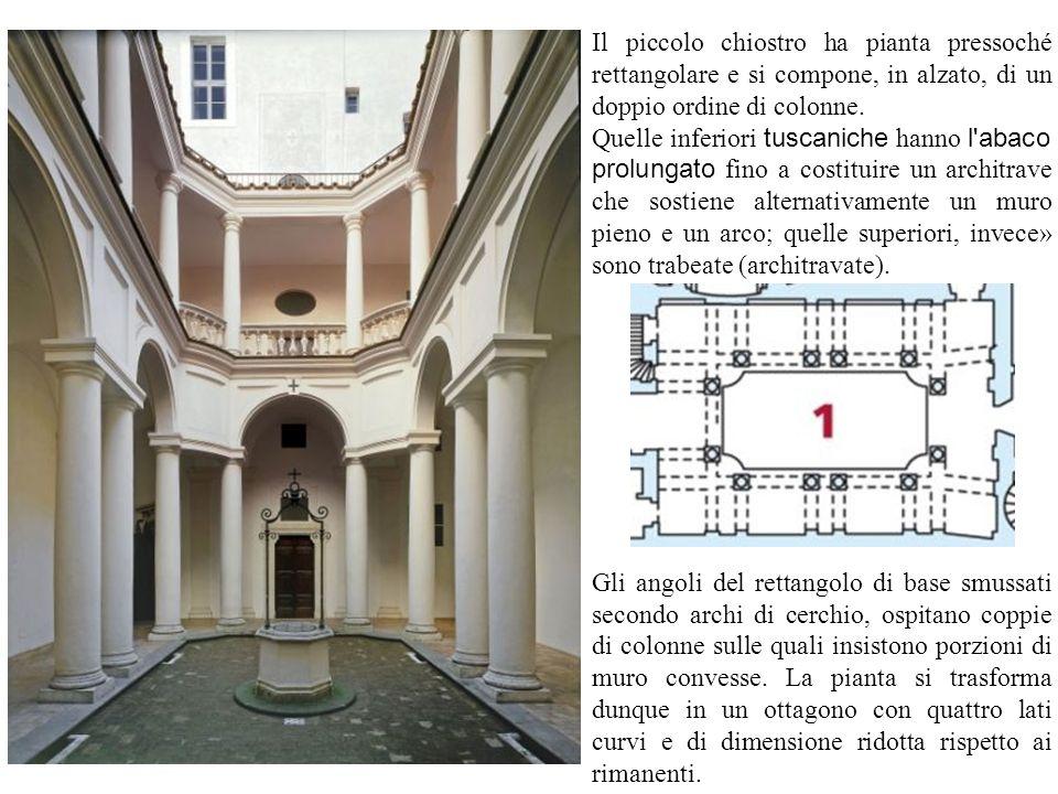 Alla stessa logica compositiva risponde l esterno, specie nel tiburio che nasconde la cupola e nelle gradinate che ne costituiscono le nervature scoperte.