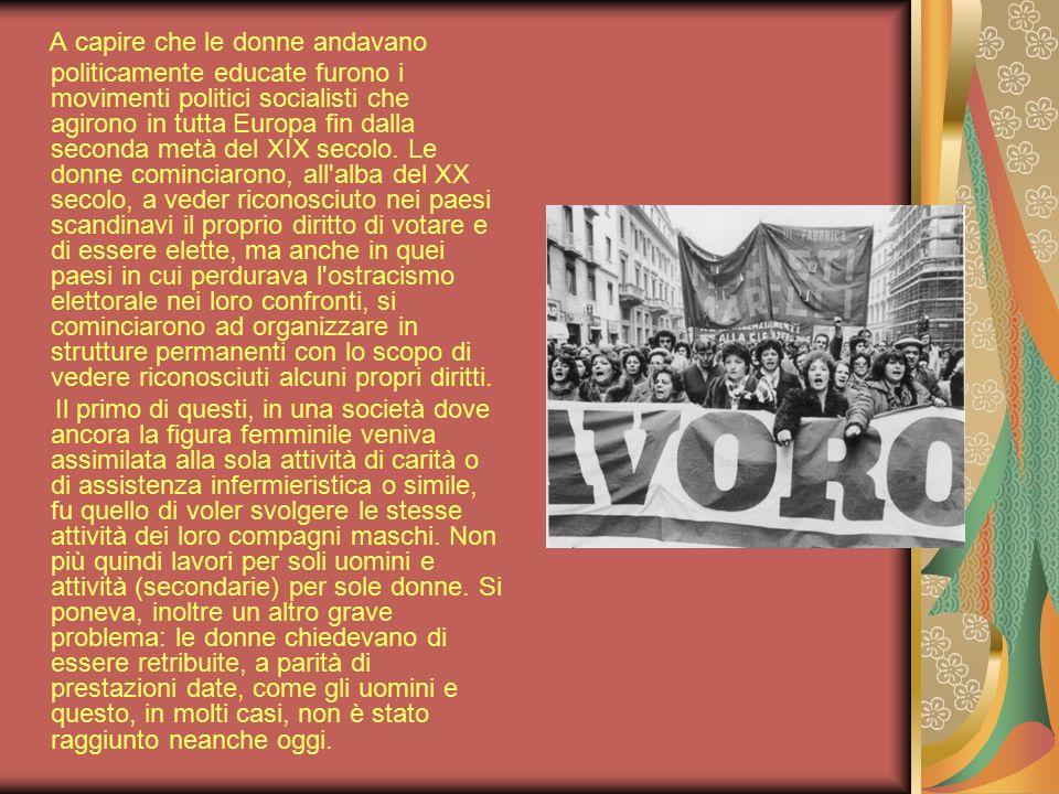 È noto come la maggior parte dell elettorato femminile italiano si sia espresso il 2 giugno 1946 nel referendum istituzionale a favore della Monarchia e, nel voto per l elezione dell Assemblea costituente, a favore della Democrazia Cristiana.