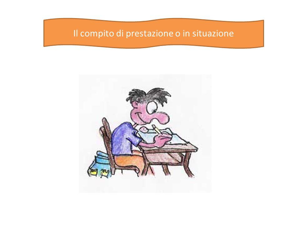 Definizione I compiti di prestazione possono essere definiti come situazioni di apprendimento che hanno una connessione diretta con il mondo reale.
