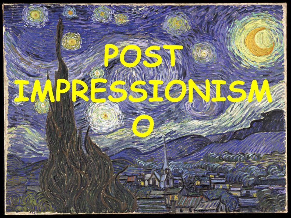 Caratteri generali Il postimpressionismo è un termine convenzionale, usato per individuare le molteplici esperienze figurative sorte dopo l'impressionismo.