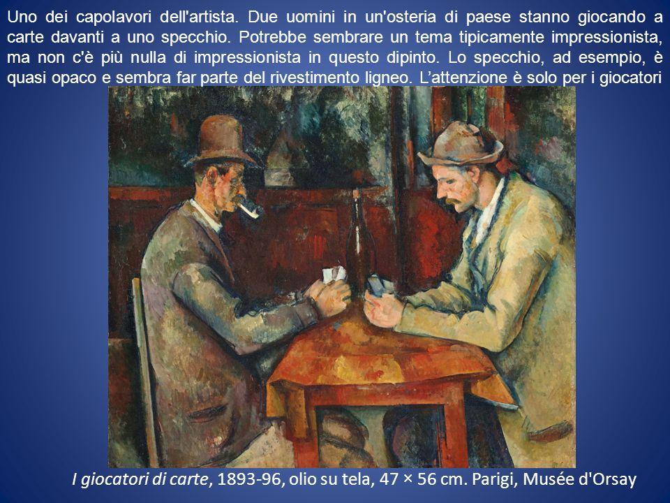 I giocatori di carte, 1893-96, olio su tela, 47 × 56 cm.