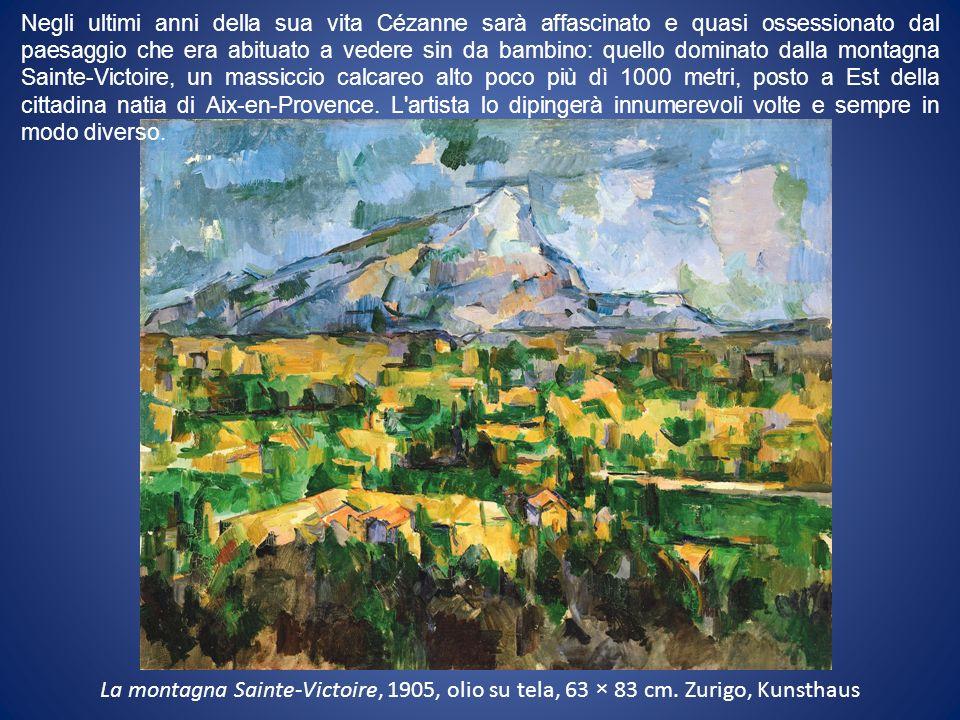 La montagna Sainte-Victoire, 1905, olio su tela, 63 × 83 cm.