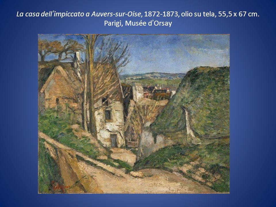 La casa dell'impiccato a Auvers-sur-Oise, 1872-1873, olio su tela, 55,5 x 67 cm.