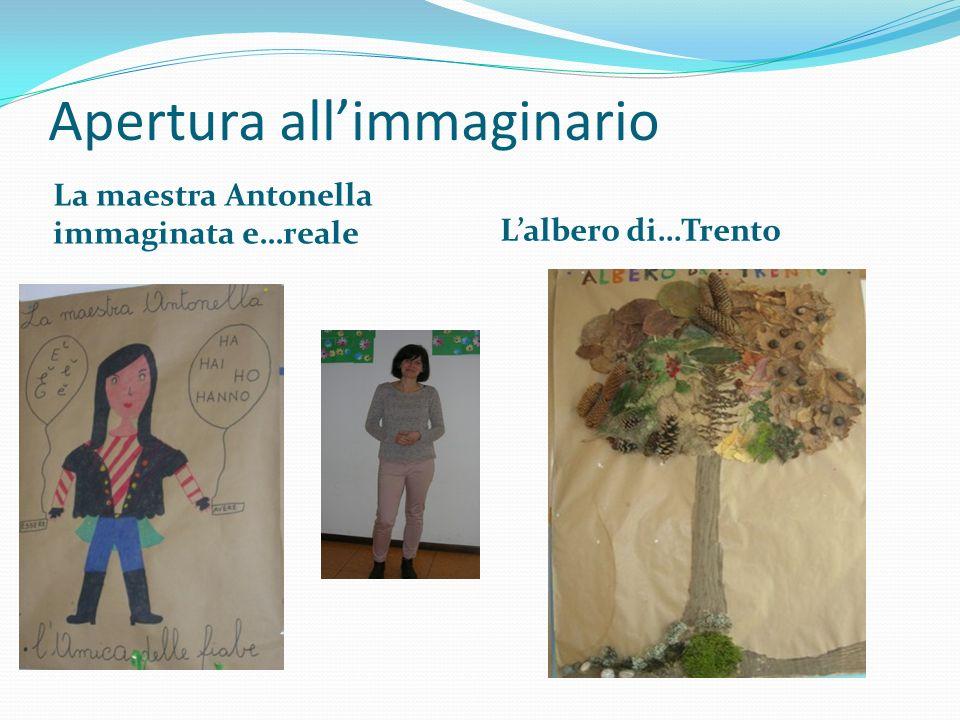 Apertura all'immaginario La maestra Antonella immaginata e…reale L'albero di…Trento