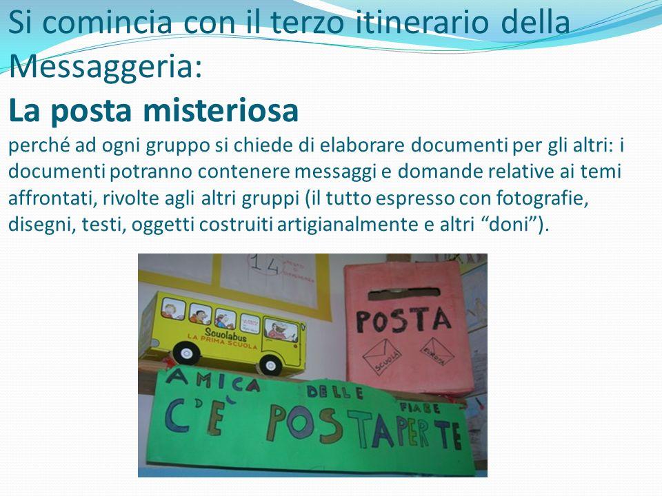 La narrazione e il ricordo Un messaggio della maestra dentro La Messaggeria