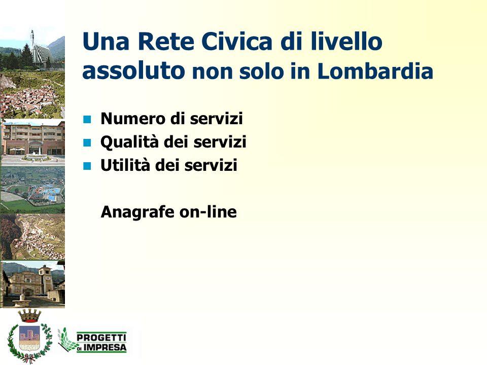 E-government La Rete Civica di Darfo Boario Terme è in linea con le indicazioni del Piano Nazionale di e-government Quando anche gli altri Enti e PP.AA.
