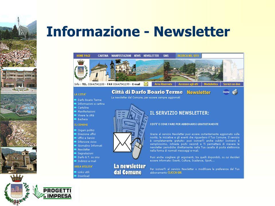 Informazione - Newsletter