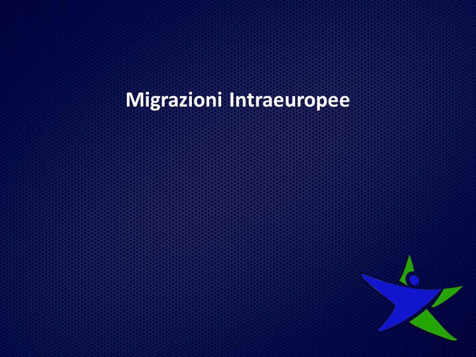 Dal dopoguerra a oggi, le migrazioni interne all'Europa si sono sviluppate a seconda dei differenti scenari sia demografici- economici sia politici adottati dai principali paesi di destinazione di questi flussi.