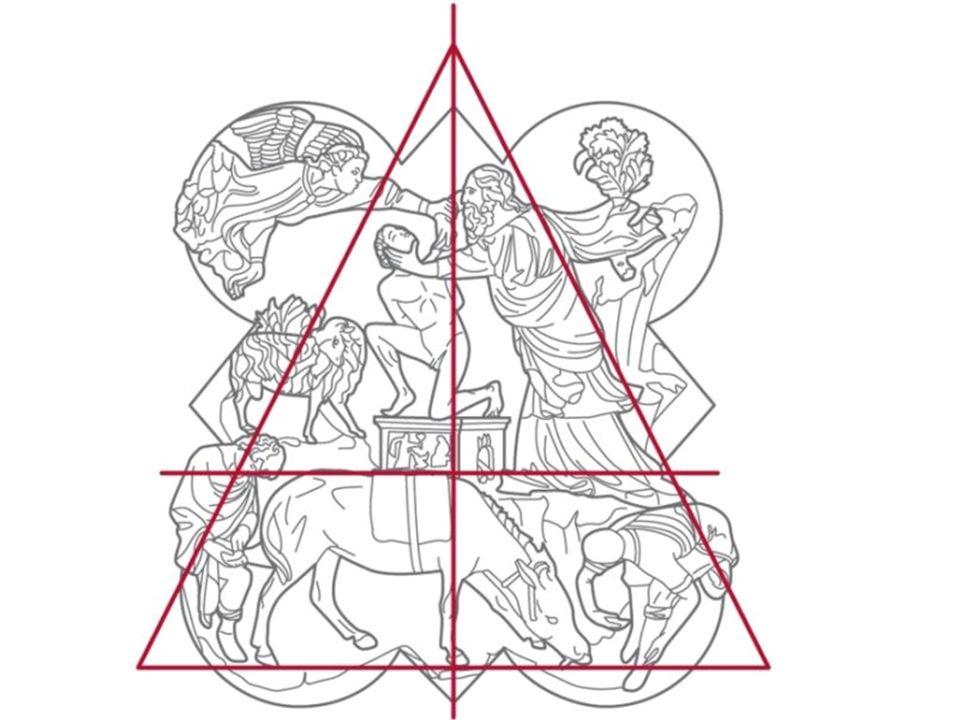 La razionalità dell'intelletto vince la forza bruta del gigante David è visto come un simbolo del suo tempo, non come un cavaliere medievale né un eroe classico