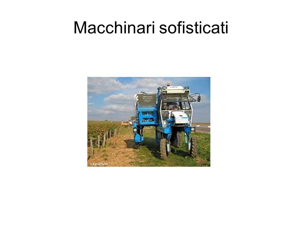Macchinari sofisticati
