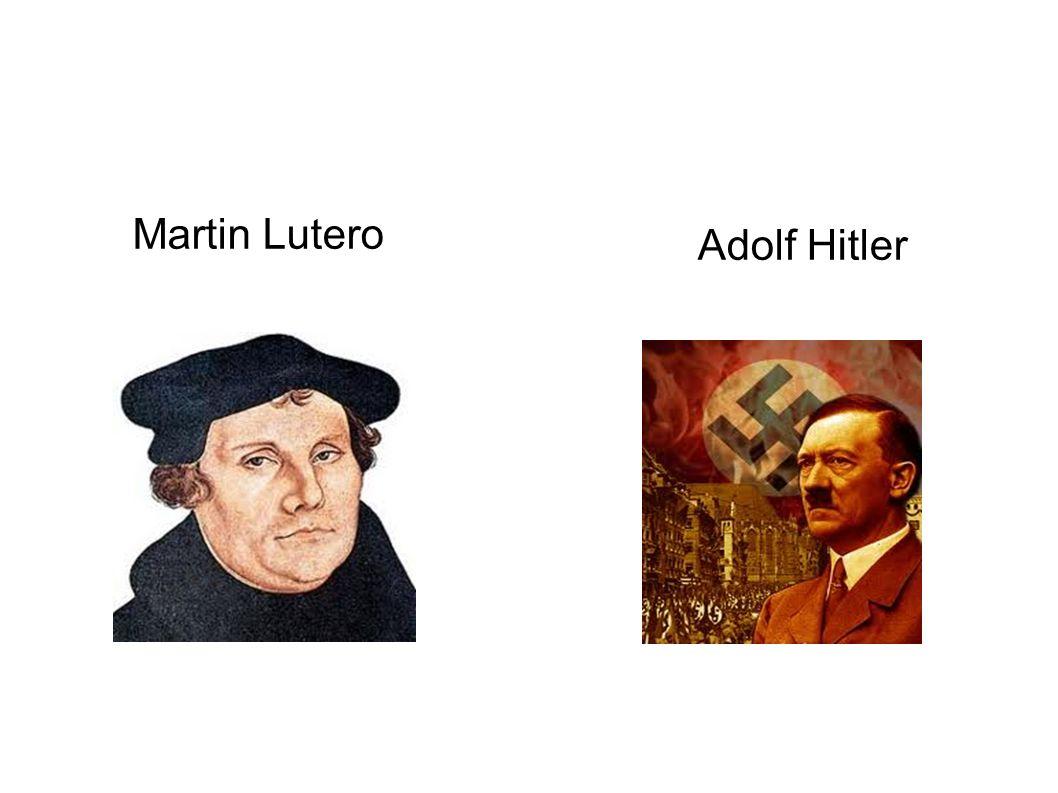 Adolf Hitler Martin Lutero