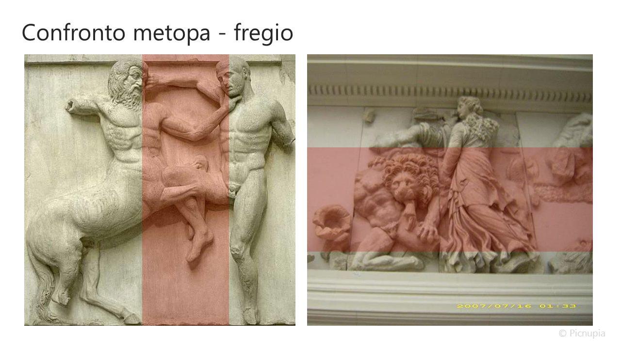 Confronto metopa - fregio © Picnupia