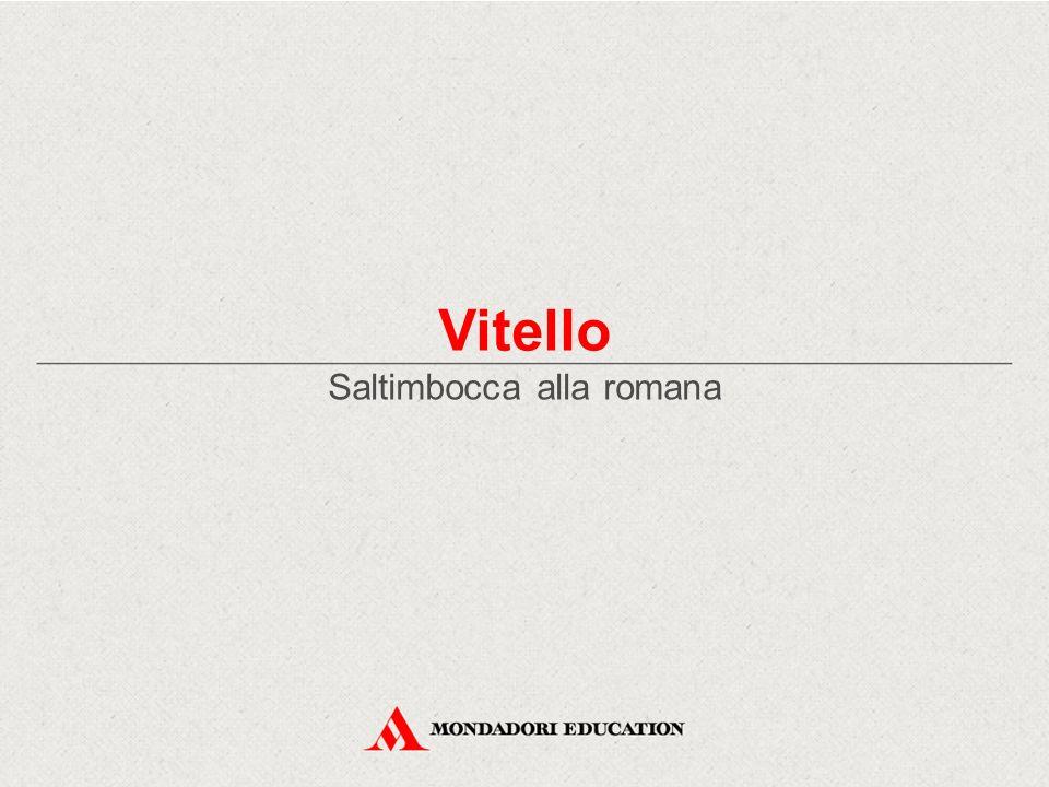 Vitello Saltimbocca alla romana
