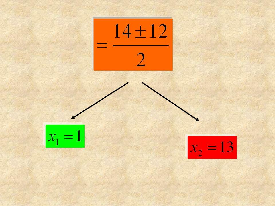 Si posizionano le radici sopra una retta orientata orientata.