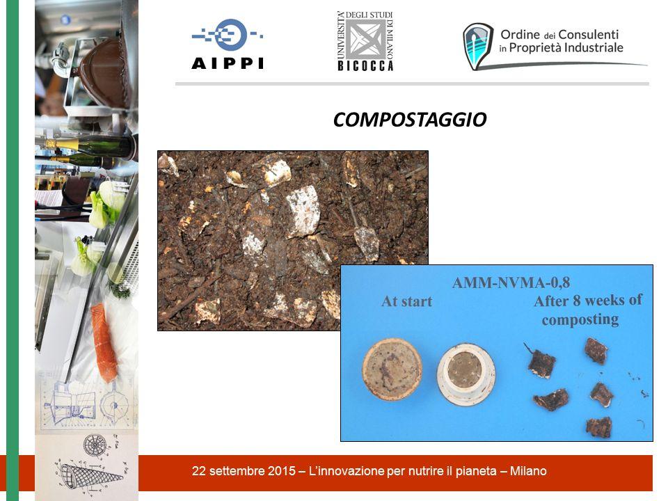 22 settembre 2015 – L'innovazione per nutrire il pianeta – Milano COMPOSTAGGIO
