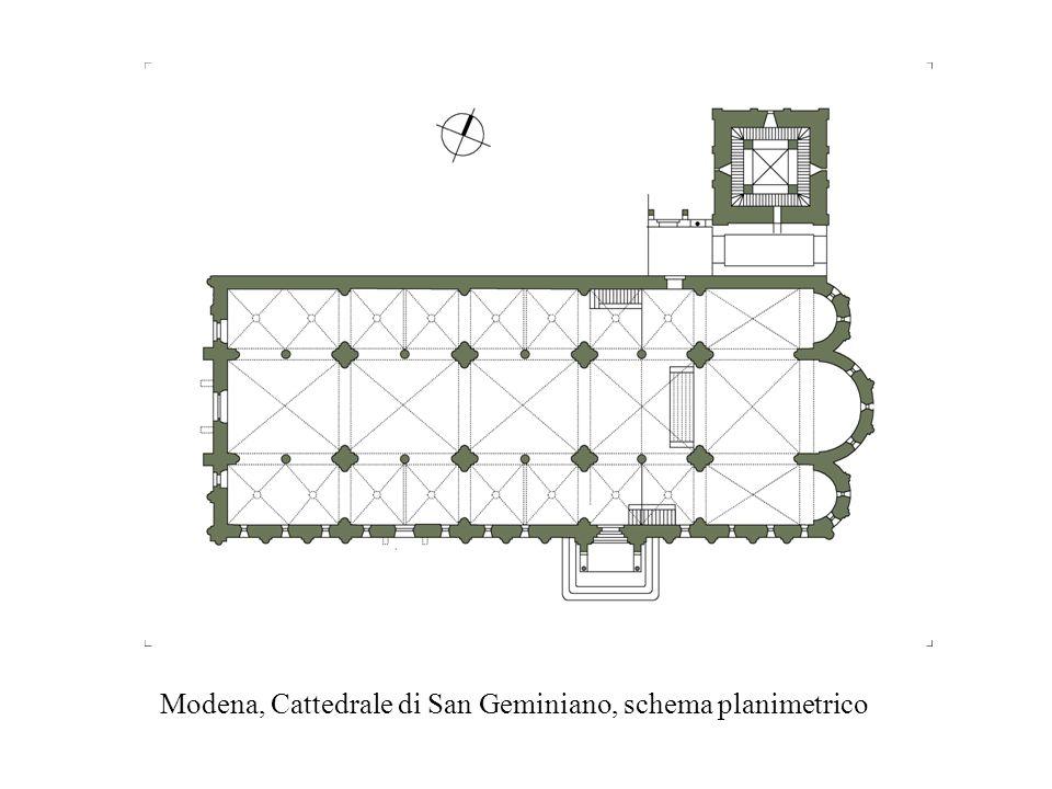 Pisa, Duomo, schema planimetrico La grande opera fu iniziata nel 1064 da Buscheto e ultimata nel corso del XII secolo da Rainaldo che per le decorazioni scultoree venne affiancato anche dai maestri Guglielmo e Biduino.
