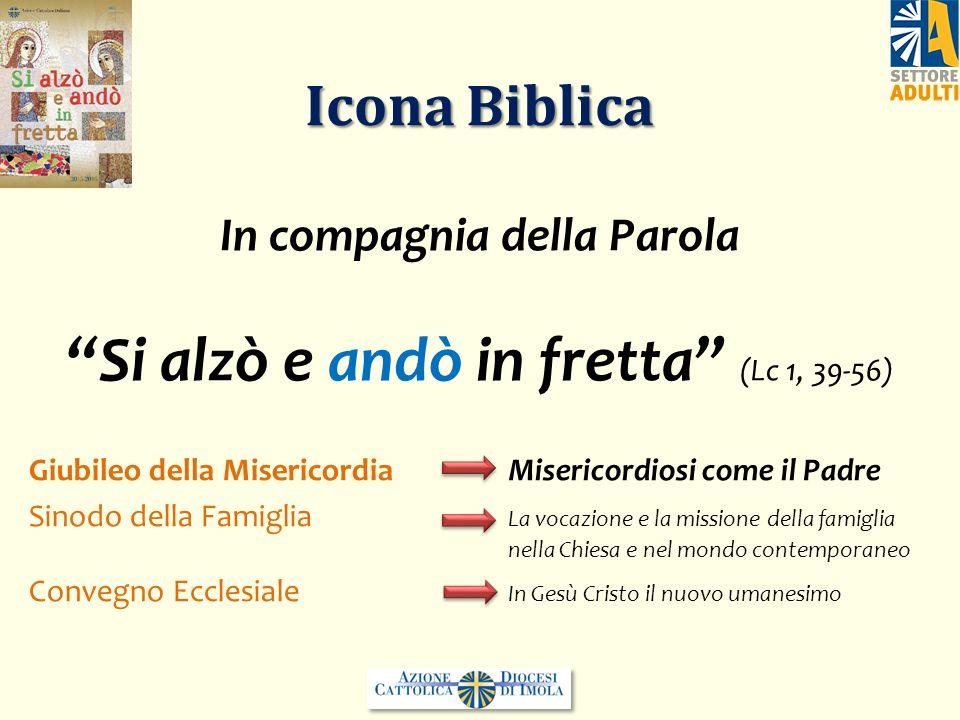 Icona Biblica Giubileo della Misericordia Misericordiosi come il Padre Sinodo della Famiglia La vocazione e la missione della famiglia nella Chiesa e
