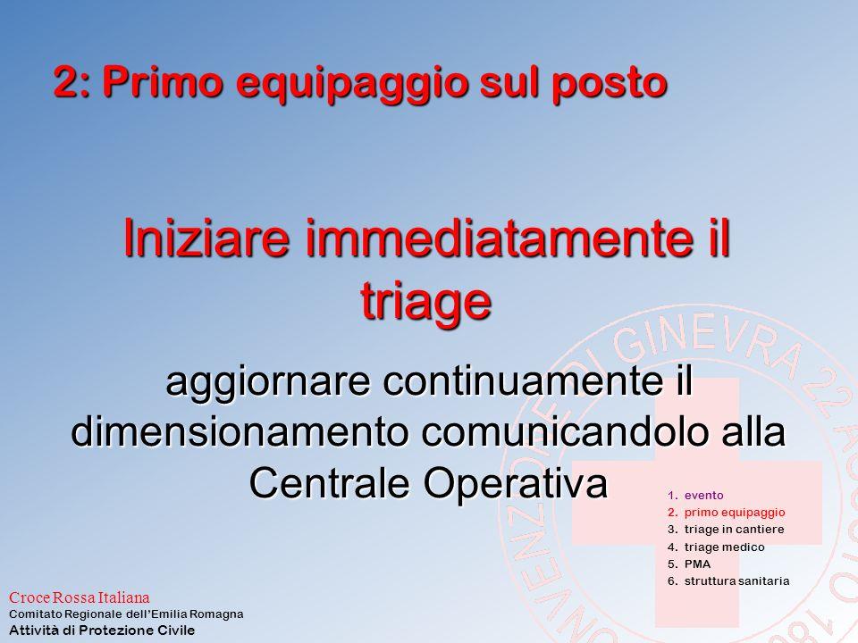 Croce Rossa Italiana Comitato Regionale dell'Emilia Romagna Attività di Protezione Civile 2: Primo equipaggio sul posto Prima la sicurezza: DPI Vigili