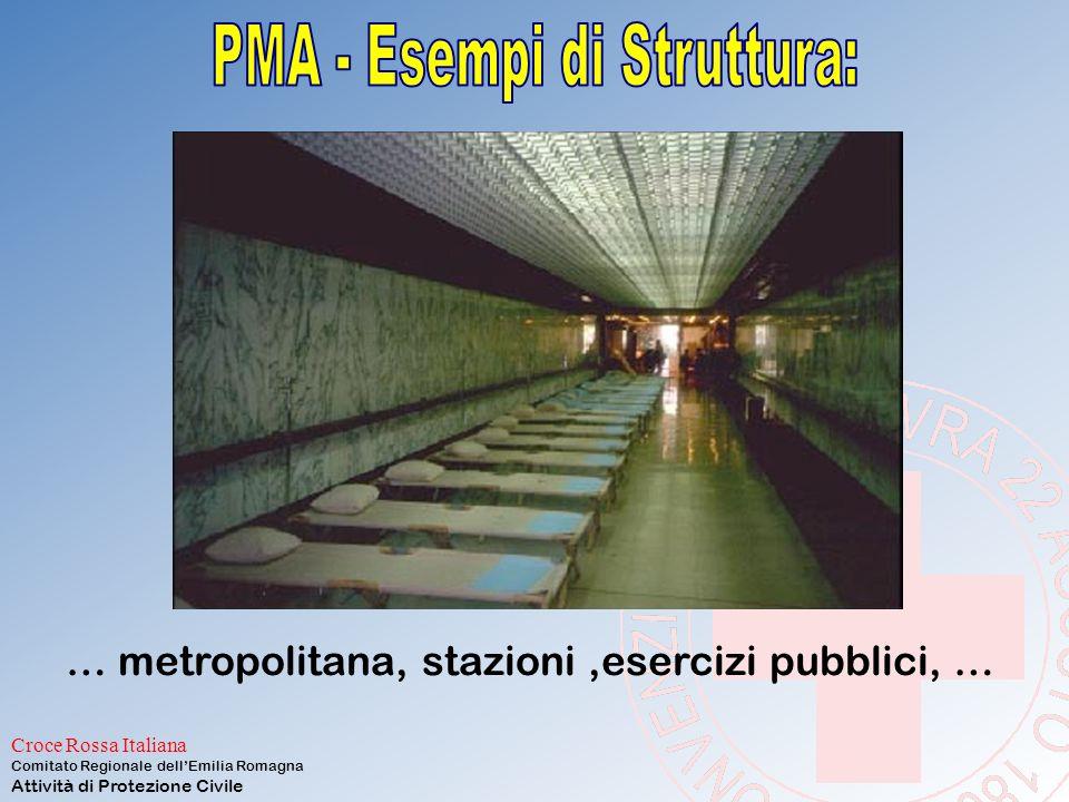 Croce Rossa Italiana Comitato Regionale dell'Emilia Romagna Attività di Protezione Civile è una Unità Mobile di Soccorso Sanitario (U.M.S.S.) ed in pa