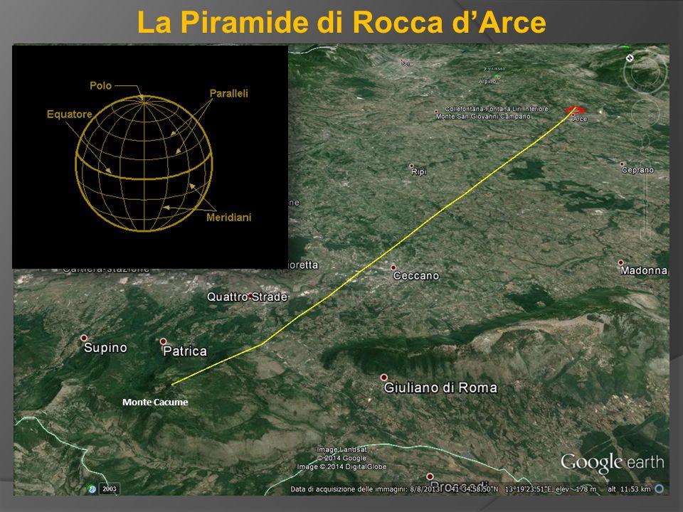 La Piramide di Rocca d'Arce Monte Cacume
