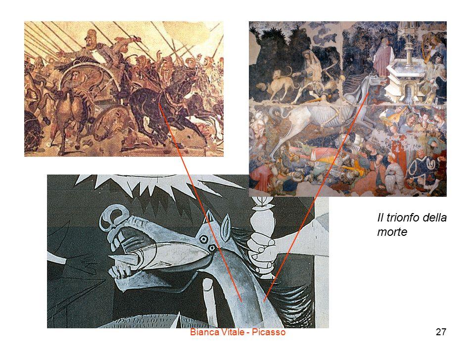 Bianca Vitale - Picasso27 Il trionfo della morte