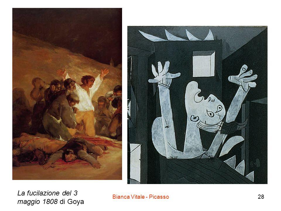 Bianca Vitale - Picasso28 La fucilazione del 3 maggio 1808 di Goya