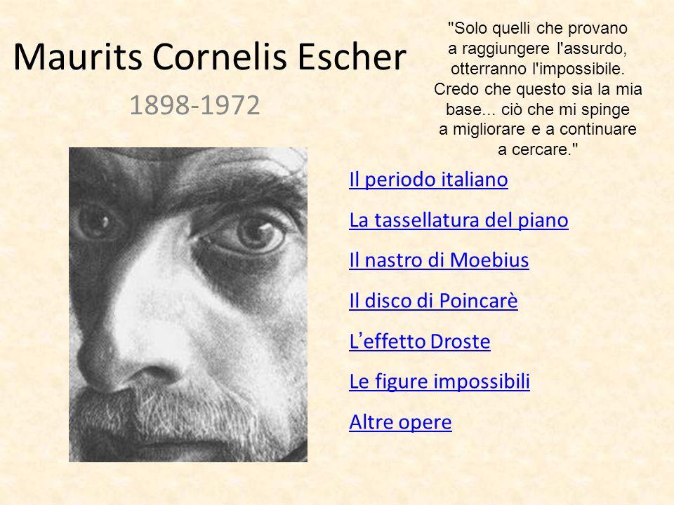 Il periodo italiano I Maurits Cornelis Escher è stato un grafico e pittore olandese.
