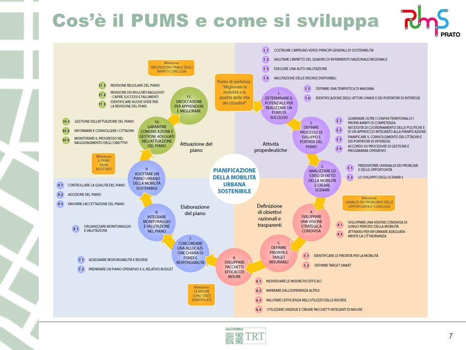 7 Cos'è il PUMS e come si sviluppa