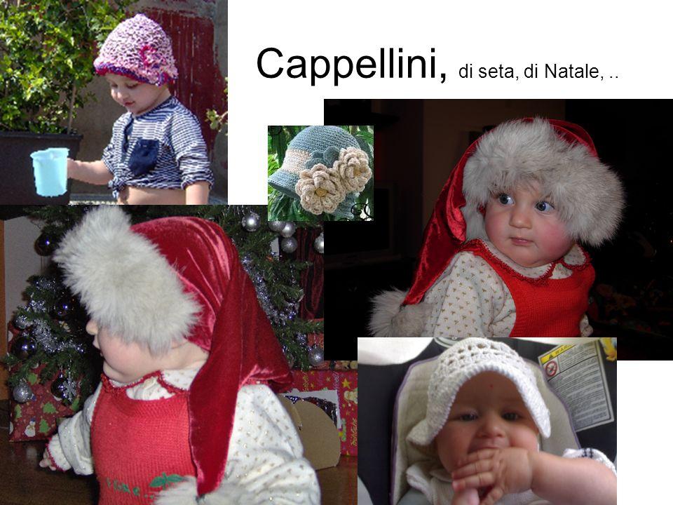 Cappellini, di seta, di Natale,..