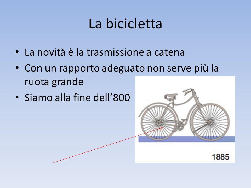 La bici nel '900 Ha sostituito il cavallo, prima del motore Si usava anche per alcuni lavori Indovina cos'è!.