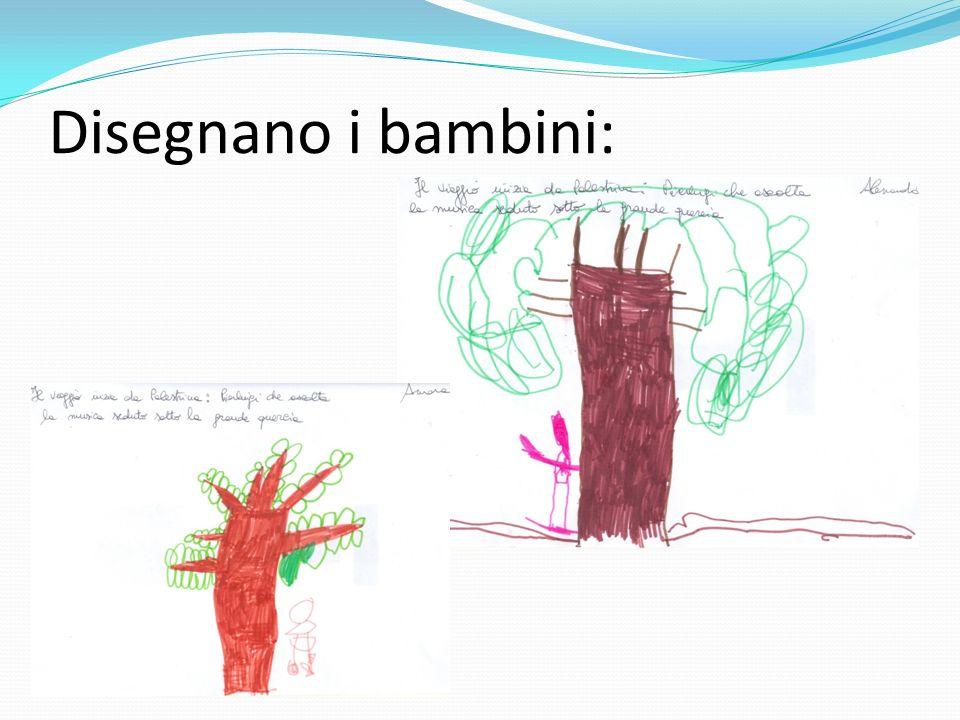 Disegnano i bambini: